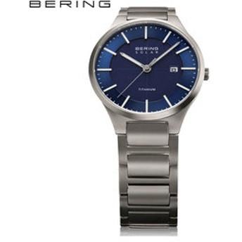 【THE WATCH SHOP.:時計】ベーリング [BERING] フルチタニウム Full Titanium] 15239-777 北欧 ソーラー サファイアガラス シンプル メンズ