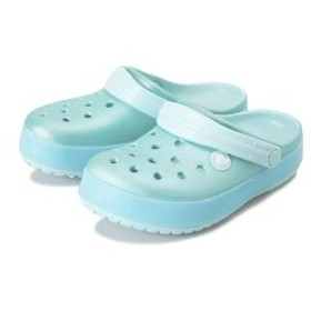 【ABC-MART:シューズ】205793-4O9 14-20Crocband Ice Pop Clog K Ice Blue 589211-0001