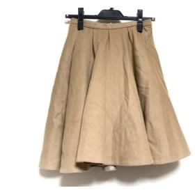 【中古】 フレイアイディー FRAY I.D スカート サイズ0 XS レディース ライトブラウン