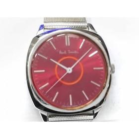 【中古】 ポールスミス PaulSmith 腕時計 5530-F52258 ボーイズ レッド