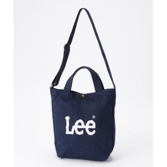 Lee 2wayショルダートートバッグ 中濃色