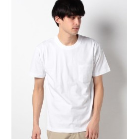 イッカ ビーフィーポケットTシャツ メンズ ホワイト M 【ikka】