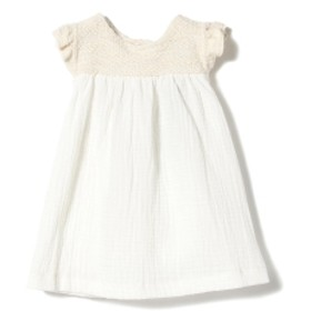 1+in the family / ROMITA dress ワンピース(1~4才) キッズ ワンピース natural 12m