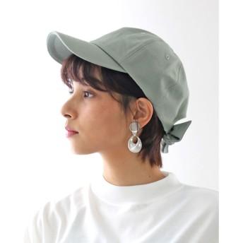 クラシカルエルフ Classical Elf バックリボンキャップ レディース 帽子 リボン ローキャップ 春夏 カジュアルデニム 紫外線対策 日よけ UV (【ミント】5)