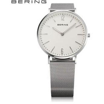 【THE WATCH SHOP.:時計】ベーリング [BERING] スタンダードメッシュ [Standard Mesh] 14236-004 北欧 クオーツ サファイアガラス シンプル メンズ