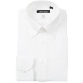 【THE SUIT COMPANY:トップス】ボタンダウンカラードレスシャツ シャドーストライプ 〔EC・BASIC〕