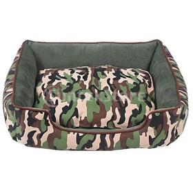 F Fityle 柔らかい ベッド 猫用 犬用 ケンネル 巣 ベッド 取り外し可能 洗濯可能