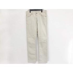 【中古】 トゥモローランド TOMORROWLAND パンツ サイズ46 XL メンズ アイボリー