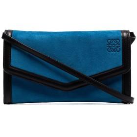 Loewe レザー クラッチバッグ - ブルー