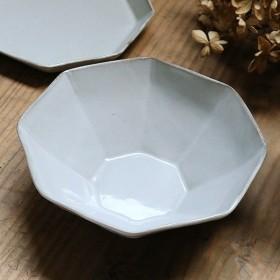 ボウル 16cm 洋食器 アミューズ 陶器 食器 笠間焼 日本製 ( 食洗機対応 電子レンジ対応 皿 お皿 取り皿 八角形 )