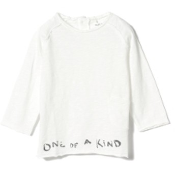 PLAY UP / ベビー ポケット ロングスリーブ Tシャツ 19 (1~2才) キッズ Tシャツ WHITE 2y