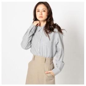 UNRELISH FINEシャンブレーシャツ / ネイビー / M (アンレリッシュ)