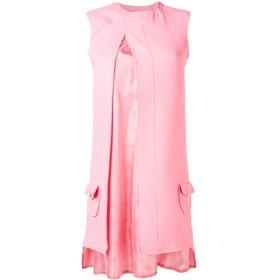 Courrèges スプリット ミニドレス - ピンク