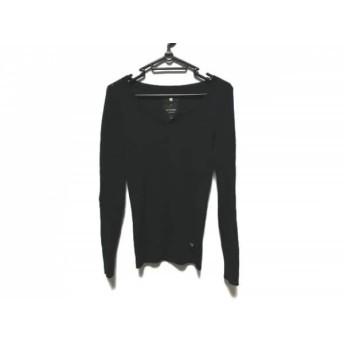 【中古】 ジースターロゥ G-STAR RAW 長袖セーター サイズS レディース 美品 ダークネイビー
