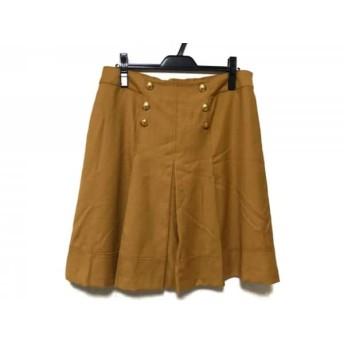 【中古】 ローズティアラ Rose Tiara スカート サイズ46 XL レディース ブラウン