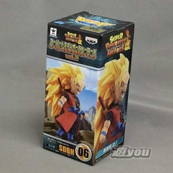 スーパードラゴンボールヒーローズ ワールドコレクタブルフィギュア vol.2 1:SDBH06:孫悟空:ゼノ バンプレスト プライズ