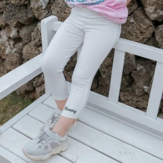 f710103f18099 女の子 レギンス ロングパンツ 子供服 綿 安い ジュニア おしゃれ スキニー タイツ キッズ ホワイト 韓国風