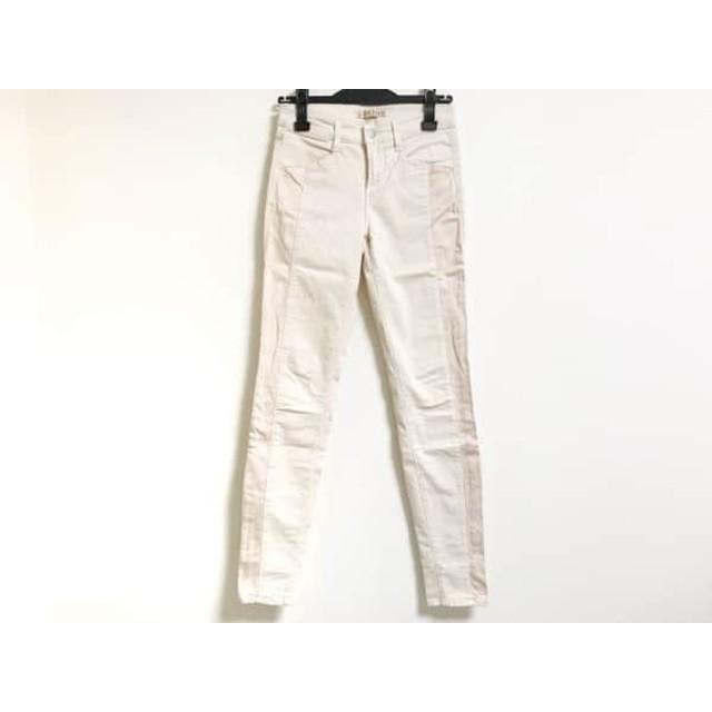 【中古】 ジェイブランド J Brand パンツ サイズ25 XS レディース ベージュ