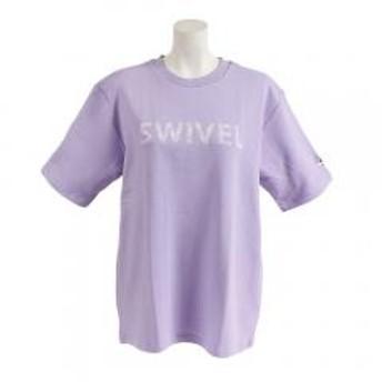 スウィベル(Swivel) THICK RUBBER プリントTシャツ 870SW9CD6426 PUL(Lady's)
