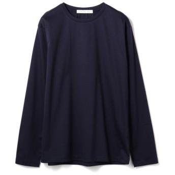ESTNATION / ディオラマスムース クルーネックL/Sカットソー ネイビー/SMALL(エストネーション)◆メンズ Tシャツ/カットソー