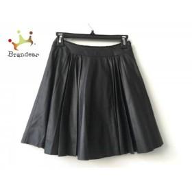 ダブルスタンダードクロージング DOUBLE STANDARD CLOTHING スカート サイズ36 S レディース 黒   スペシャル特価 20190707