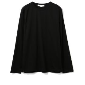 ESTNATION / ディオラマスムース クルーネックL/Sカットソー ブラック/LARGE(エストネーション)◆メンズ Tシャツ/カットソー