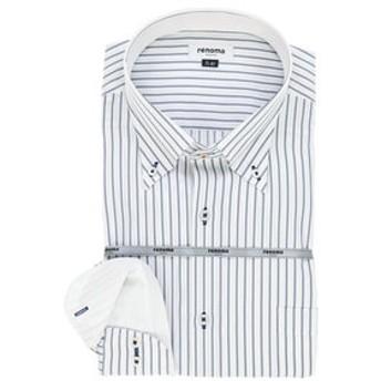 【GRAND-BACK:トップス】【大きいサイズ】renoma HOMEE (レノマ オム)形態安定ボタンダウン長袖ビジネスドレスシャツ