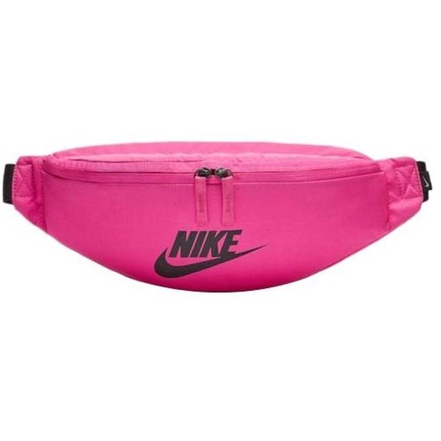 ナイキ(NIKE) ウエストポーチ ファニー パック ヘリテージ フューシャ/ブラック/ブラック BA5750 520 ウエストバッグ バッグ 鞄 スポーツバッグ カジュアル