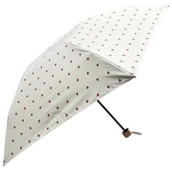 軽量遮光遮熱 晴雨兼用 折りたたみ傘 ツインハート ブラック