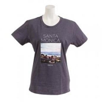 スウィベル(Swivel) 【オンライン特価】SANTAMONICA スリム Tシャツ 870SW9CD6415 GRY(Lady's)