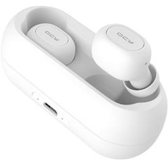 フルワイヤレスイヤホン QCY01WH ホワイト [マイク対応 /防滴&左右分離タイプ /Bluetooth]