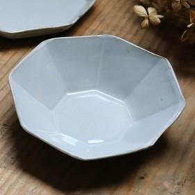ボウル 13cm 洋食器 アミューズ 陶器 食器 笠間焼 日本製 ( 食洗機対応 電子レンジ対応 皿 お皿 小皿 八角形 )