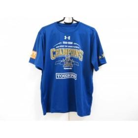 【中古】 アンダーアーマー UNDER ARMOUR 半袖Tシャツ サイズSM メンズ ブルー オレンジ