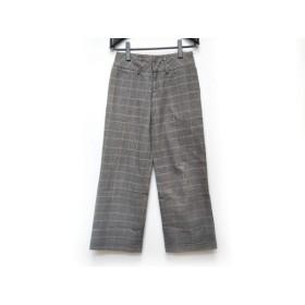 【中古】 フルカウント FULLCOUNT パンツ サイズ1 S レディース ベージュ ダークネイビー マルチ