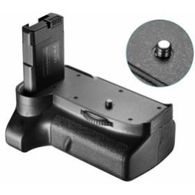 Neewer (NW-D3400) バッテリーグリップ Nikon D3400 DSLRカメラに対応 垂直シャッターリリースボタン操作グリップ 1本または2本のEN-EL