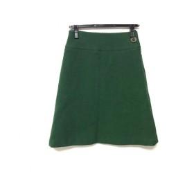 【中古】 サリースコット Sally Scott スカート サイズ61-89 レディース グリーン