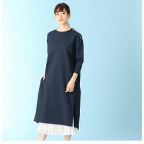 【LUMINOSO COMMECA:ワンピース】Tシャツドレス