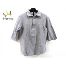 ダブルジェイケイ WJK 半袖ポロシャツ サイズM メンズ ライトグレー   スペシャル特価 20190715
