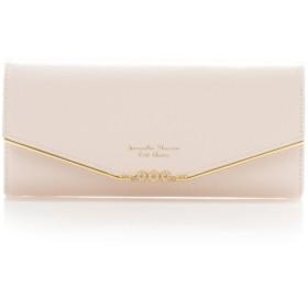 サマンサタバサプチチョイス フラワーバー金具シリーズ長財布 ピンク