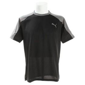 【Super Sports XEBIO & mall店:トップス】【ゼビオ限定】 A.C.E. ブロック 半袖Tシャツ 518003 04 BLK