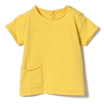 PLAY UP / ベビー ポケット ショートスリーブ Tシャツ 19 (1~2才) キッズ Tシャツ YELLOW 18m