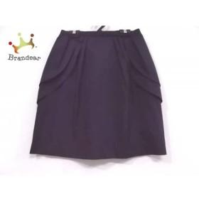 ジャスグリッティー JUSGLITTY スカート サイズ2 M レディース 新品同様 ダークネイビー     スペシャル特価 20190801