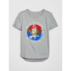 GapKids Marvel グラフィック半袖Tシャツ
