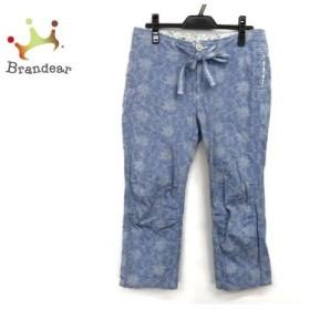 ジーンナッソーズ JEAN NASSAUS パンツ サイズ3 L レディース 美品 ブルー×アイボリー   スペシャル特価 20190620