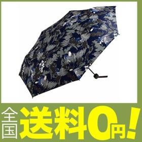 ワールドパーティー(Wpc.) 雨傘 折りたたみ傘 ペイントネイビー 58cm レディース メンズ ユニセックス MSM-051