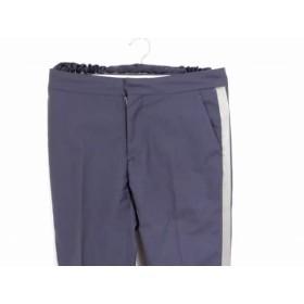 【中古】 サイ SCYE パンツ サイズ38 M レディース ダークグレー ライトグレー