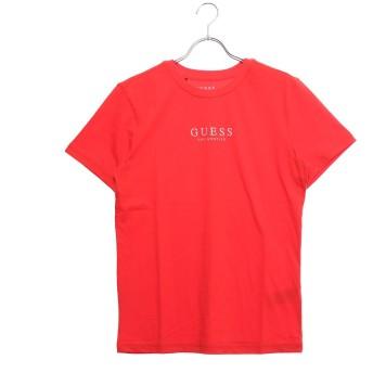 ゲス GUESS LOGO TEE (RED)