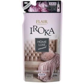 フレア フレグランス IROKA 柔軟剤 ホームリュクス パウダリー ピオニー 詰め替え ( 480mL )/ フレア フレグランス
