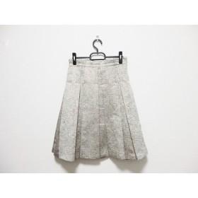 【中古】 ランバンコレクション LANVIN COLLECTION スカート サイズ38 M レディース ライトグレー