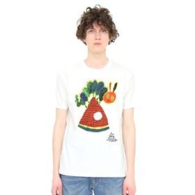 【グラニフ:トップス】グラニフ Tシャツ メンズ レディース 半袖 ミロコマチコ(エリックカール)